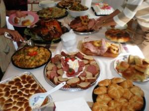 Royal Oaks Manor Christmas dinner
