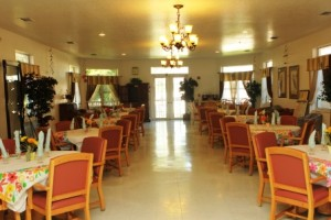 Royal Oask Manor dining room